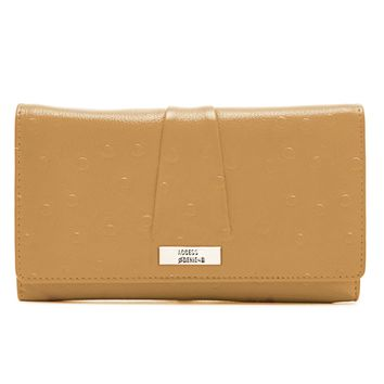 Genuine Leather Wallet Accordion With ID Slot