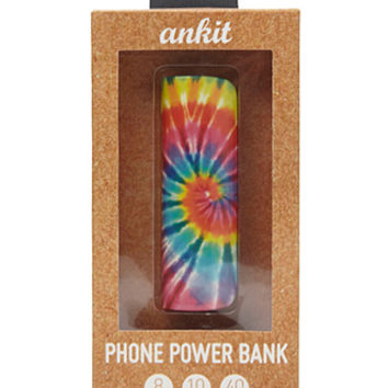 Ankit Tie-Dye Phone Power Bank
