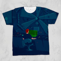 Another World aka Out of This World Unisex Video Game Sublimation T-shirt