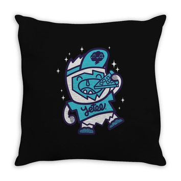 pizza yetee! Throw Pillow