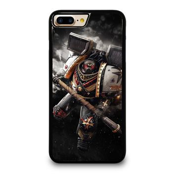 BLACK TEMPLAR WARHAMMER iPhone 4/4S 5/5S/SE 5C 6/6S 7 8 Plus X Case