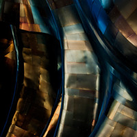 Metal Waves I - Metal, Fine Art Photography, Gallery Wrap or Print, Multiple Sizes