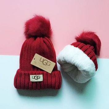 UGG Knit And Pom Hat Cap-11