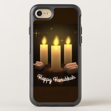 Happy Hanukkah OtterBox Symmetry iPhone 8/7 Case