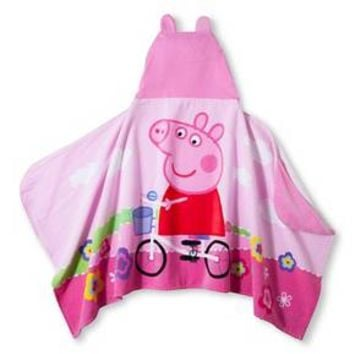 "Nickelodeon Peppa Pig Hooded Towel (24""x50"")"