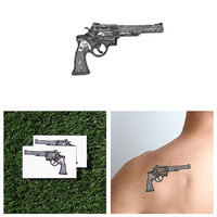 Son of a Gun - Temporary Tattoo (Set of 2)