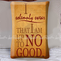 I Solemnly Swear Decorative Pillow Covers