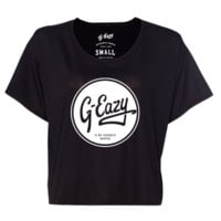 Favorite Rapper Circle Boxy Tee