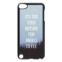 iPod 5 Case,Quotes of Ed Sheeran Hard Snap-On Cover Case for iPod Touch 5, 5G (5th Generation)