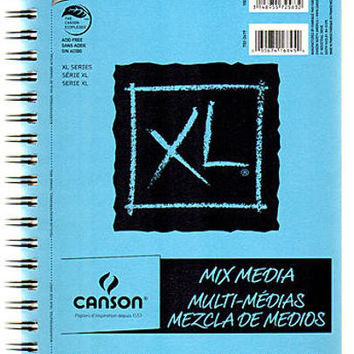 Canson XL Mix Media Pads (7 In. x 10 In.)