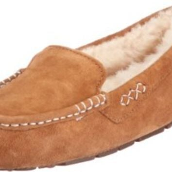 UGG Australia Women's Ansley Slip-on Shoes,Chestnut,US 8 US