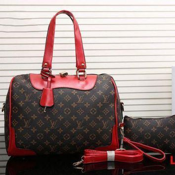DCCKON LV Women Leather Luggage Travel Bag Tote Handbag H-MYJSY-BB Tagre-