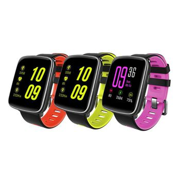 """1.54"""" LCD IP68 Waterproof Bluetooth Sports Smart Watch Heart Rate Pedometer Fitness Tracker for IOS iPhone Samsung Huawei Phone"""