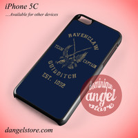 Ravenclaw Quidditch Phone case for iPhone 5C and another iPhone devices