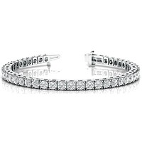 Classic Tennis Moissanite or Diamond Bracelet