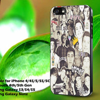One Direction and 5sos Cover Design for Phone Case