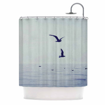 "Chelsea Victoria ""Two If By Sea"" Nautical Photography Shower Curtain"