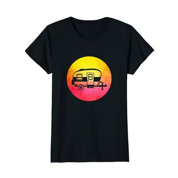 Vintage RV Camper T-Shirt - Funny retro camping t shirt