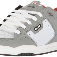 Globe Mens Fusion Skate Shoes Grey/White/Red 12 D(M) US '