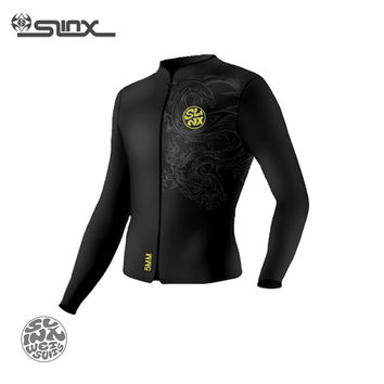 SLINX RivaRanger 1109 5mm Neoprene Men Scuba Diving Surfing Water Craft Boating Spearfishing Fleece Lining Warm Jacket Wetsuit