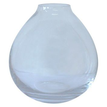 Table Vase Target Glass 3.75in