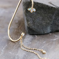 Free People Opal Drop Ear Cuff