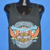 90s Harley Davidson Motorcycles Tank Top t-shirt Large