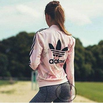 DCCKFM6 adidas Originals Pastel Rose Track Jacket