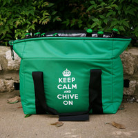 Keep Calm and Chive On Soft Cooler - The Chivery