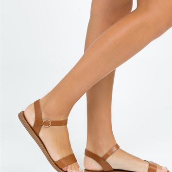 Windsor Smith Tan Keira Sandals