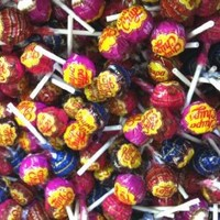 Chupa Chups Lollipops Assorted 2 lbs