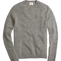 Shetland Crewneck Sweater - Brooks Brothers