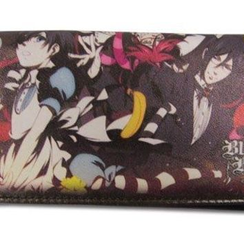 Great Eastern Entertainment Black Butler 2 - Ciel In Wonderland Wallet