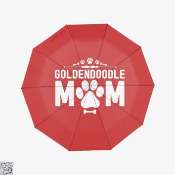 Goldendoodle Mom, Family Love Umbrella