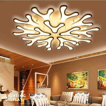Europe Country Antler ceiling Chandelier American modern led Deer Horn chandelier lighting Home Decoration Lighting