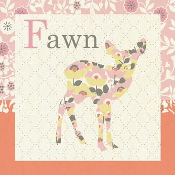 Forest Fawn | Canvas Wall Art
