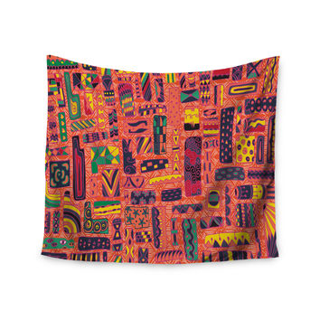 "Akwaflorell ""Squares"" Wall Tapestry"