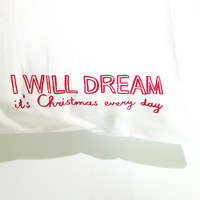 Dreams & Wishes Christmas Pillowcase set
