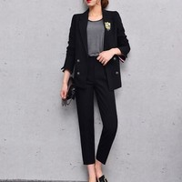 Women Casual Business Pant Suits