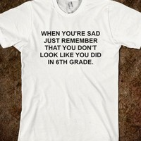 6th Grade-Unisex White T-Shirt