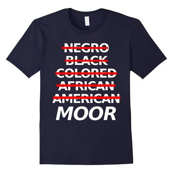 "Moorish American Apparel "" Moor "" Tee Shirt - Official"