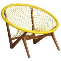 Escuna Lounge Chair - Midcentury - Outdoor Lounge Chairs - by Tidelli Outdoor Living