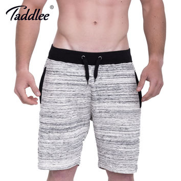 Men's Shorts Cotton Casual Fitness Sweatpants Fashion Short Bottoms Calf-Length Jogger Gasp Boxer Trunks Workout