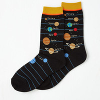 Cosmic Solar Power to Ya Socks Size OS by ModCloth