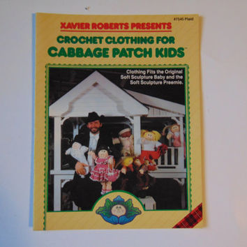 Xavier Roberts Presents Crochet Clothing for Cabbage Patch Kids 1982