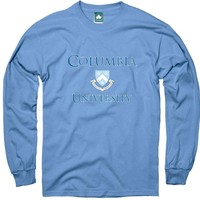 Columbia Crest Long Sleeve T-Shirt  (Light Blue)