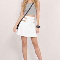 See You There A-Line Skirt $36