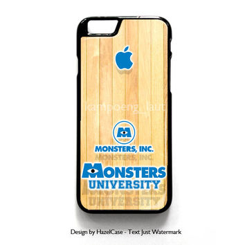Monster Inc Logo for iPhone 4 4S 5 5S 5C 6 6 Plus , iPod Touch 4 5  , Samsung Galaxy S3 S4 S5 Note 3 Note 4 , and HTC One X M7 M8 Case Cover