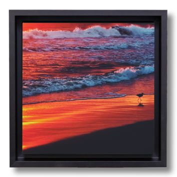 Edge of Sunset canvasbox