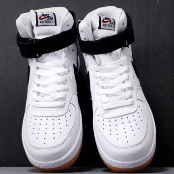 Trendsetter Nike Air Force 1 Women Men Fashion Casual High-Top Old Skool Shoes